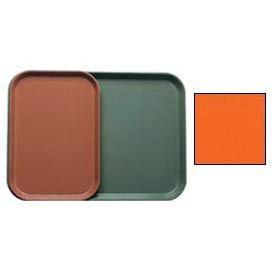 "Cambro 1015220 - Camtray 10"" x 15"" Rectangle,  Citrus Orange - Pkg Qty 24"