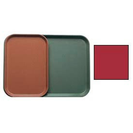 """Cambro 1015221 - Camtray 10"""" x 15"""" Rectangle,  Ever Red - Pkg Qty 24"""