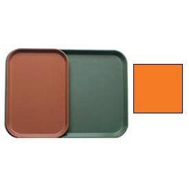 "Cambro 1015222 - Camtray 10"" x 15"" Rectangle,  Orange Pizazz - Pkg Qty 24"