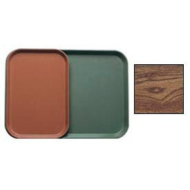 """Cambro 1015304 - Camtray 10"""" x 15"""" Rectangle,  Country Oak - Pkg Qty 24"""