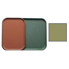 """Cambro 1015428 - Camtray 10"""" x 15"""" Rectangle,  Olive Green - Pkg Qty 24"""