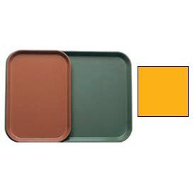 """Cambro 1015504 - Camtray 10"""" x 15"""" Rectangle,  Mustard - Pkg Qty 24"""