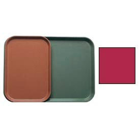 """Cambro 1015505 - Camtray 10"""" x 15"""" Rectangle,  Cherry Red - Pkg Qty 24"""