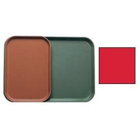 """Cambro 1015510 - Camtray 10"""" x 15"""" Rectangle,  Signal Red - Pkg Qty 24"""