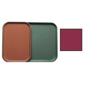 """Cambro 1015522 - Camtray 10"""" x 15"""" Rectangle,  Burgundy Wine - Pkg Qty 24"""