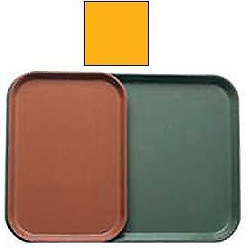 "Cambro 1116504 - Camtray 11"" x 16"", Mustard - Pkg Qty 24"