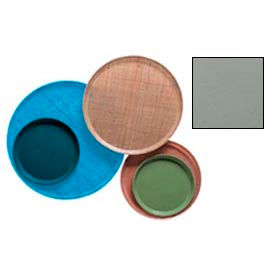 """Cambro 1200107 - Camtray 12"""" Round,  Pearl Gray - Pkg Qty 12"""
