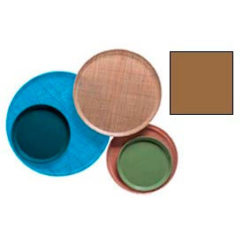 """Cambro 1200508 - Camtray 12"""" Round,  Suede Brown - Pkg Qty 12"""