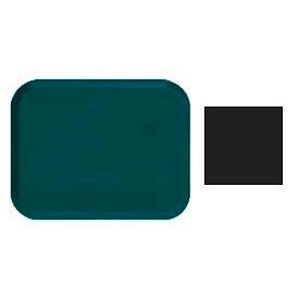 "Cambro 1216110 - Camtray 12"" x 16"" Rectangle,  Black - Pkg Qty 12"