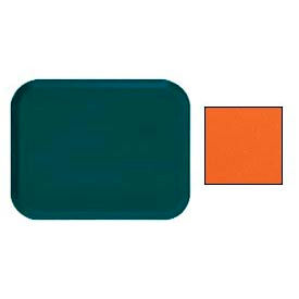 "Cambro 1216220 - Camtray 12"" x 16"" Rectangle,  Citrus Orange - Pkg Qty 12"