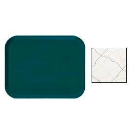 """Cambro 1216270 - Camtray 12"""" x 16"""" Rectangle,  Swirl Black And Gold - Pkg Qty 12"""