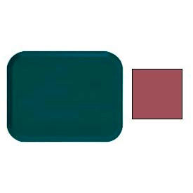 "Cambro 1216410 - Camtray 12"" x 16"" Rectangle,  Raspberry Cream - Pkg Qty 12"