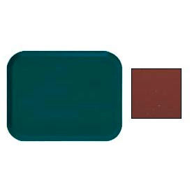 """Cambro 1216501 - Camtray 12"""" x 16"""" Rectangle,  Real Rust - Pkg Qty 12"""