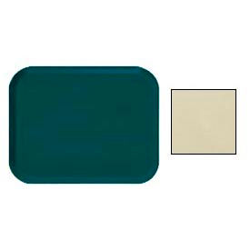 "Cambro 1216537 - Camtray 12"" x 16"" Rectangle,  Cameo Yellow - Pkg Qty 12"
