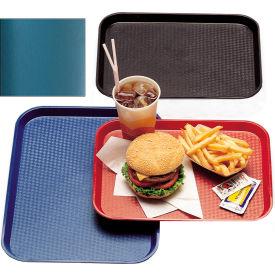 "Cambro 1216FF414 - Tray, Fast Food, Teal, 12"" x 16""  - Pkg Qty 24"