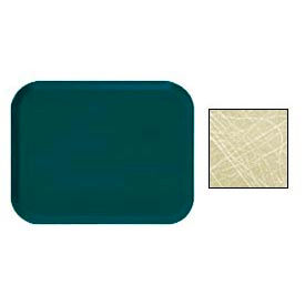 Cambro 1318214 - Camtray 13 x 18 Rectangle,  Abstract Tan - Pkg Qty 12