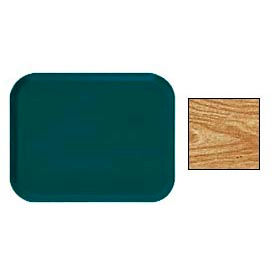 "Cambro 1418307 - Camtray 14"" x 18"" Rectangular,  Light Elm - Pkg Qty 12"