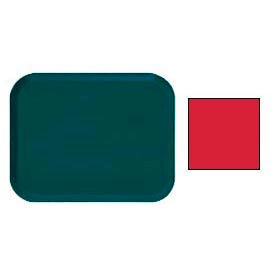 """Cambro 1418510 - Camtray 14"""" x 18"""" Rectangular,  Signal Red - Pkg Qty 12"""