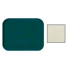 "Cambro 1418531 - Camtray 14"" x 18"" Rectangular,  Galaxy Antique Parchment Silver - Pkg Qty 12"