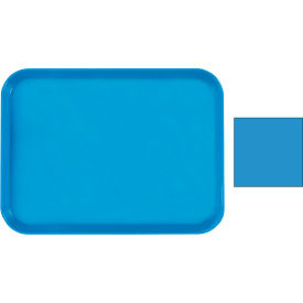 "Cambro 1418CW168 - Tray Camwear 14"" x 18"" Rectangular,  Blue - Pkg Qty 12"