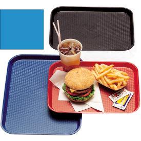 """Cambro 1418FF168 - Tray Fast Food 14"""" x 18"""",  Blue - Pkg Qty 12"""