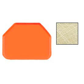 """Cambro 1418TR214 - Camtray 14"""" x 18"""" Trap,  Abstract Tan - Pkg Qty 12"""