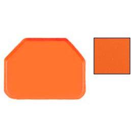 """Cambro 1418TR220 - Camtray 14"""" x 18"""" Trap,  Citrus Orange - Pkg Qty 12"""