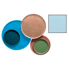 """Cambro 1550177 - Camtray 15.5"""" Round Low,  Sky Blue - Pkg Qty 12"""