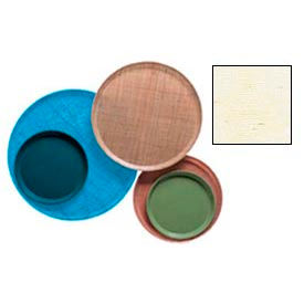 """Cambro 1550203 - Camtray 15.5"""" Round Low,  Grass Mat - Pkg Qty 12"""