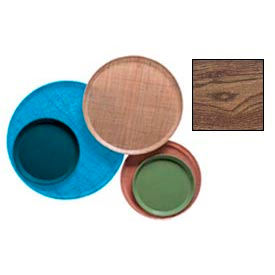 """Cambro 1550304 - Camtray 15.5"""" Round Low,  Country Oak - Pkg Qty 12"""
