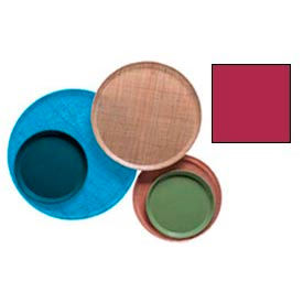 """Cambro 1550505 - Camtray 15.5"""" Round Low,  Cherry Red - Pkg Qty 12"""