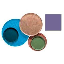 """Cambro 1550551 - Camtray 15.5"""" Round Low,  Grape - Pkg Qty 12"""