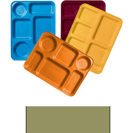 """Cambro 1220D508 - Tray Dietary 12"""" x 20"""", Suede Brown - Pkg Qty 12"""