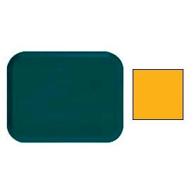 """Cambro 1622504 - Camtray 16"""" x 22"""" Rectangle,  Mustard - Pkg Qty 12"""