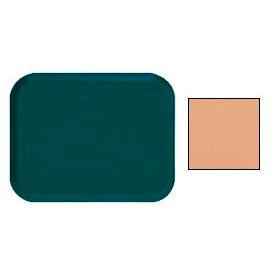 "Cambro 16225117 - Camtray 16"" x 22"".5 Rectangle,  Dark Peach - Pkg Qty 12"