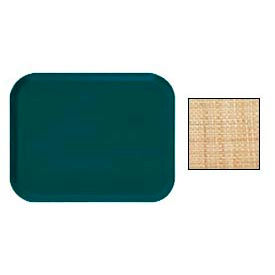 """Cambro 16225204 - Camtray 16"""" x 22"""".5 Rectangle,  Rattan - Pkg Qty 12"""