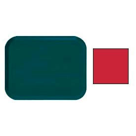 "Cambro 1622521 - Camtray 16"" x 22"" Rectangle,  Cambro Red - Pkg Qty 12"