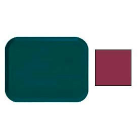 "Cambro 1622522 - Camtray 16"" x 22"" Rectangle,  Burgundy Wine - Pkg Qty 12"