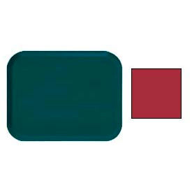"""Cambro 16225221 - Camtray 16"""" x 22"""".5 Rectangle,  Ever Red - Pkg Qty 12"""