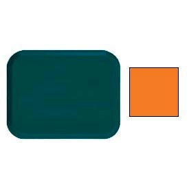 "Cambro 16225222 - Camtray 16"" x 22"".5 Rectangle,  Orange Pizazz - Pkg Qty 12"