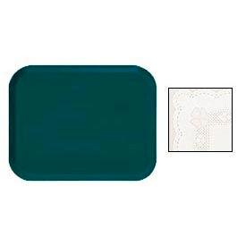 "Cambro 16225246 - Camtray 16"" x 22"".5 Rectangle,  Doily Lite Peach - Pkg Qty 12"