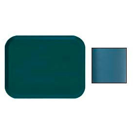 "Cambro 16225414 - Camtray 16"" x 22"".5 Rectangle,  Teal - Pkg Qty 12"