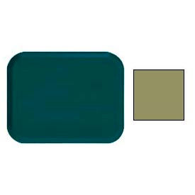 "Cambro 16225428 - Camtray 16"" x 22"".5 Rectangle,  Olive Green - Pkg Qty 12"