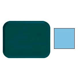 "Cambro 16225518 - Camtray 16"" x 22"".5 Rectangle,  Robin Egg Blue - Pkg Qty 12"