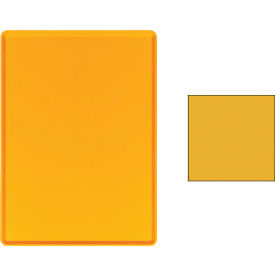 """Cambro 1418D222 - Tray Dietary 14"""" x 18"""", Orange Pizazz - Pkg Qty 12"""