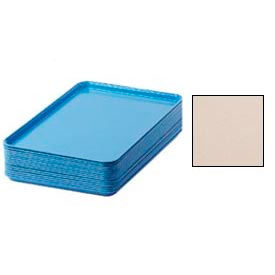 "Cambro 1826106 - Camtray 18"" x 26"" Rectangular,  Light Peach - Pkg Qty 6"