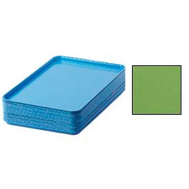 "Cambro 1826113 - Camtray 18"" x 26"" Rectangular,  Lime-Ade - Pkg Qty 6"