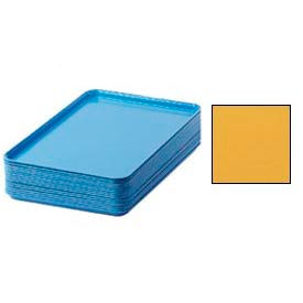 "Cambro 1826171 - Camtray 18"" x 26"" Rectangular,  Tuscan Gold - Pkg Qty 6"