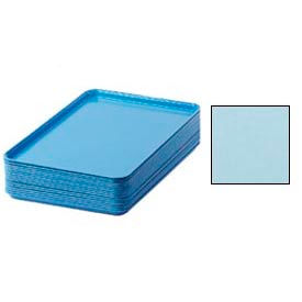 "Cambro 1826177 - Camtray 18"" x 26"" Rectangular,  Sky Blue - Pkg Qty 6"