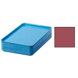 "Cambro 1826410 - Camtray 18"" x 26"" Rectangular,  Raspberry Cream - Pkg Qty 6"